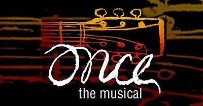 "A promotional poster for ""Once The Musical,"" courtesy of ..."