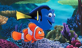 Promo graphic for Movies On The Beach: 'Finding Nemo'