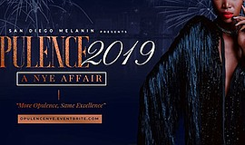 Promotional graphic for Opulence 2019 New Year's Eve even...