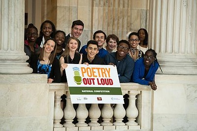 Promotional photo courtesy of Poetry Out Loud.