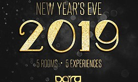 Promotional graphic for NYE 2019: Ball on Broadway. Court...