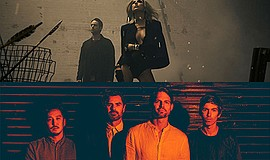A promotional photo of Phantogram and Tycho, courtesy of ...