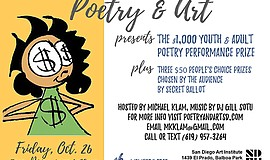Promotional graphic courtesy of Poetry and Art.