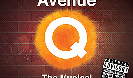 Promo graphic for 'Avenue Q' At New Village Arts