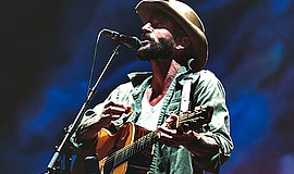 A promotional photo of Ray LaMontagne, courtesy of Open A...