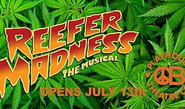 Promo graphic for 'Reefer Madenss' At OB Playhouse