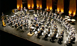 Promo graphic for Coastal Communities Concert Band
