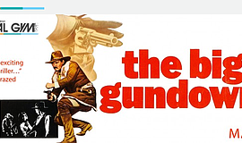 Promo graphic for 'The Big Gundown': Part Of Film Geeks...