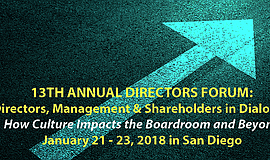 Promo graphic for Directors Forum 2018: Directors, Mana...