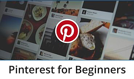 Promo graphic for Pinterest For Beginners: An Oasis Pro...