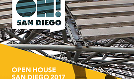 Promo graphic for Open House San Diego 2018