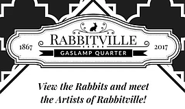 Promo graphic for Sparks Presents 'Rabbitville' Pop-Up ...