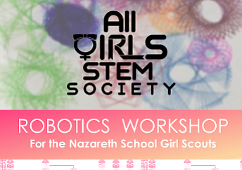 Promotional graphic courtesy of the All Girls STEM Society.