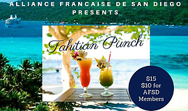 Promo graphic for Tahitian Punch Tasting & Polynesian D...