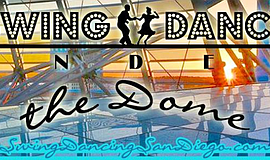 Promo graphic for Swing Dance Under The Dome