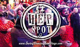 Promo graphic for The Hep Spot!