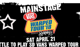 Promo graphic for Battle To Play San Diego Vans Warped ...