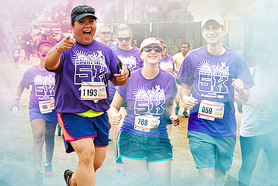 Promotional photo courtesy of the San Diego County Fair 5k.
