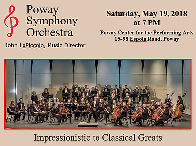 Promotional graphic courtesy of Poway Symphony Orchestra.