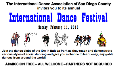 Promotional graphic courtesy of International Dance Assoc...
