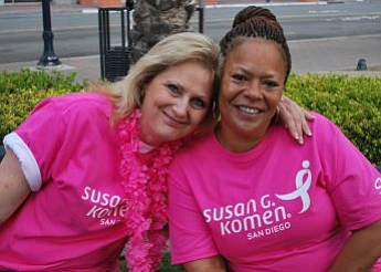 Promotional photo courtesy of Susan G. Komen of San Diego.