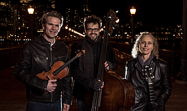 Promo graphic for San Francisco String Trio
