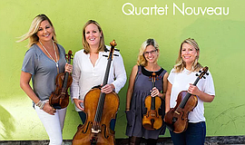 Promo graphic for Quartet Nouveau At San Diego Central ...