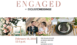 Promo graphic for Engaged By Exquisite Weddings