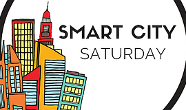 Promo graphic for Smart City Saturday: Teen Only Hackathon