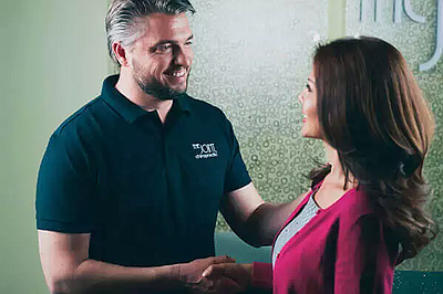 Promotional photo courtesy of The Joint Chiropractic.
