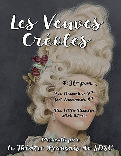 Promotional graphic for SDSU French Theater's production ...