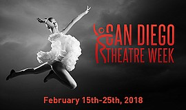 Promo graphic for San Diego Theatre Week 2018