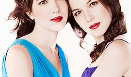 A promotional photo of Christina and Michelle Naughton, c...