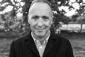 A promotional photo of David Sedaris, courtesy of Ticketmaster.