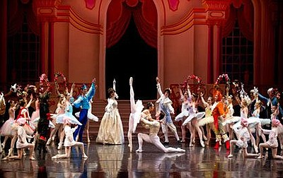 "A photo from ""The Sleeping Beauty,"" courtesy of San Diego..."