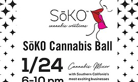 Promo graphic for The SoKO Cannabis Ball