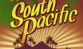 Promo graphic for 'South Pacific'