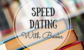 Promo graphic for 'Speed Dating' With Local Authors