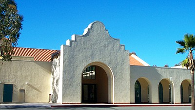 Exterior photo of Scripps Miramar Ranch Library