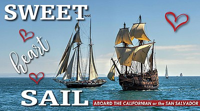 Promotional flyer for the Sweetheart Sail. Courtesy of th...