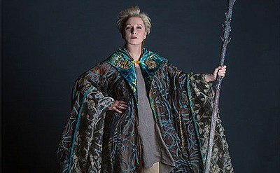 "Kate Burton appears as Prospera in ""The Tempest,"" by Will..."