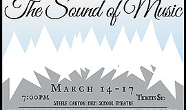 Promo graphic for Rodgers & Hammerstein's 'The Sound Of...