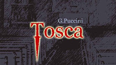 "A promotional poster for ""Tosca,"" courtesy of CCAE."