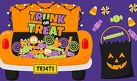 Promotional photo for Trunk Or Treat at Faith Presbyteria...