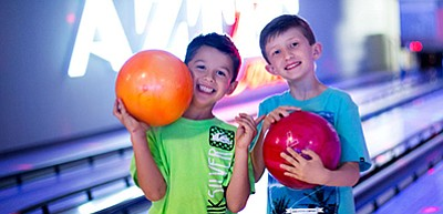 Promotional photo for the Kids Bowl Free days. Courtesy o...