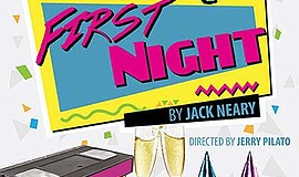 """Promotional graphic for """"First Night."""" Courtesy of the Po..."""