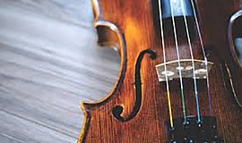 A stock photo of a violin.