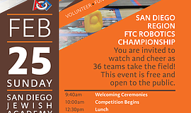 Promo graphic for FTC Robotics Championship: San Diego ...
