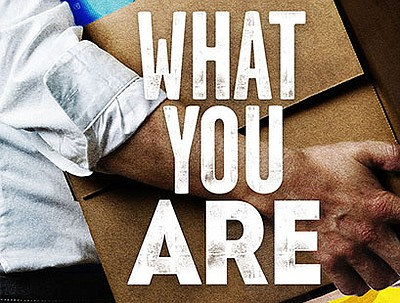 "A promotional graphic for ""What You Are,"" courtesy of The..."