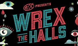 "Promotional poster for ""Wrex the Halls."" Courtesy of 91X."